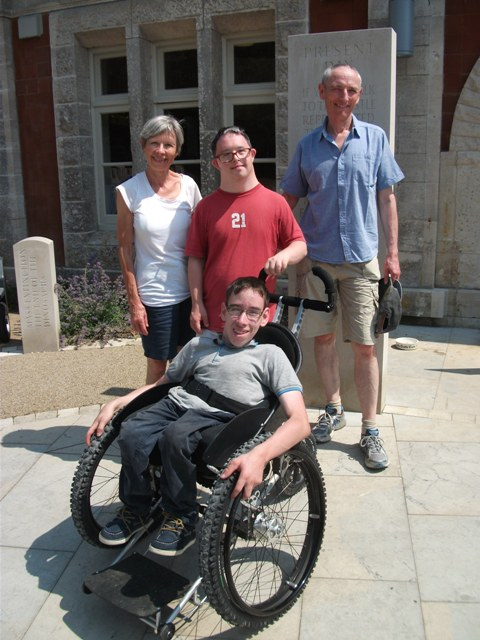 Trekinetic wheelchair