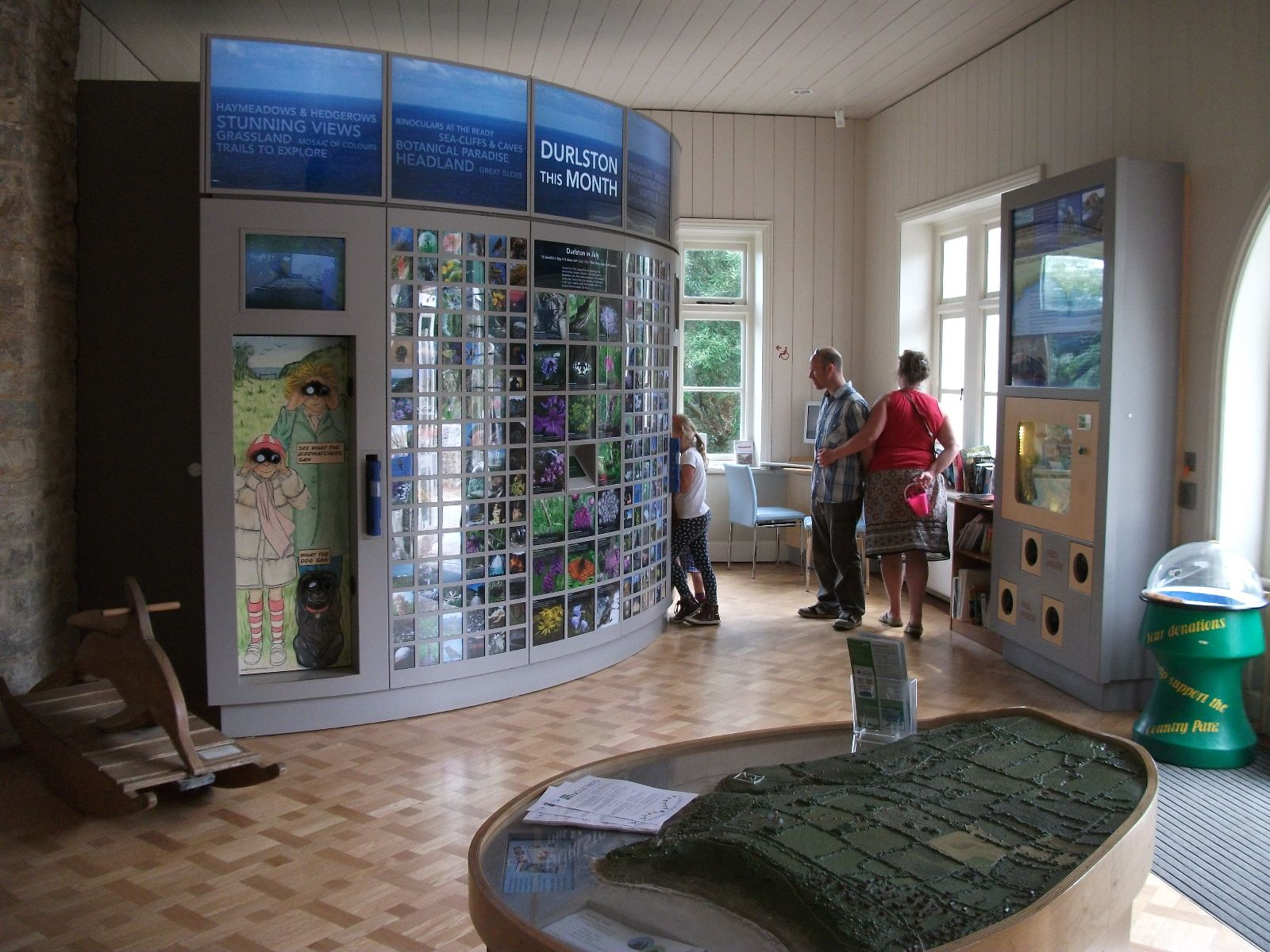 Visitor Centre Info Desk